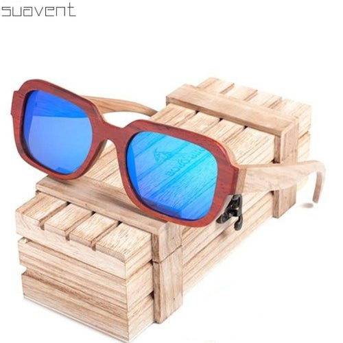 Unisex Polarized Mirrored Bamboos