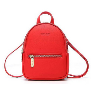 DELIGHT Faux Leather Mini Backpack
