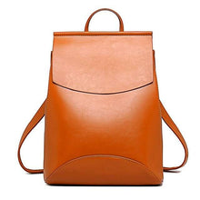 Load image into Gallery viewer, BRITTANY Faux Leather Backpack