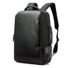 Load image into Gallery viewer, BOPAI™ Black Leather Business Backpack - Vital Backpacks