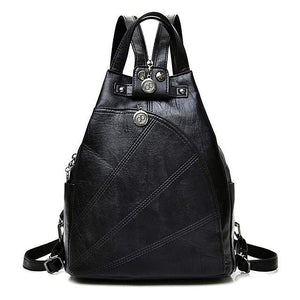 DOWNTOWN Faux Leather Backpack