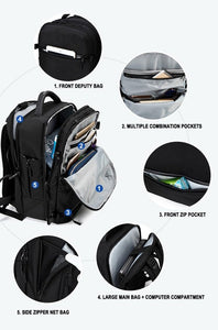ADVENTURE Travel USB Backpack