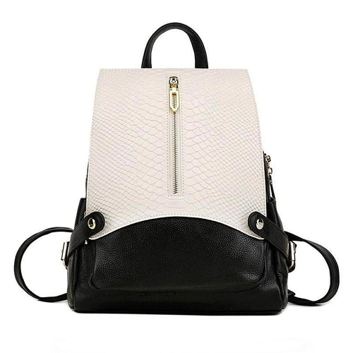 ORVIETO Genuine Leather Backpack