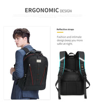 Load image into Gallery viewer, USB Multifunction Backpack