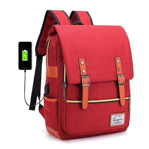 DISCOVER School USB Backpack