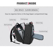 Load image into Gallery viewer, VOYAGEUR Business USB Backpack - Vital Backpacks