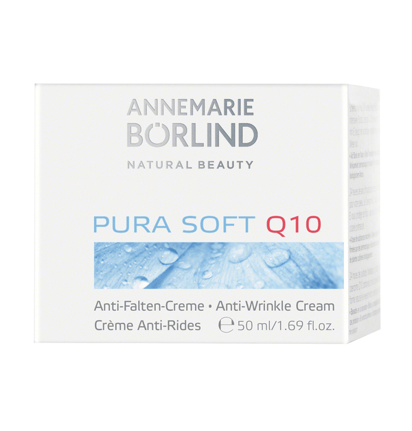 ANNEMARIE BÖRLIND - PURA SOFT Q10 Anti-Falten-Creme 50ml