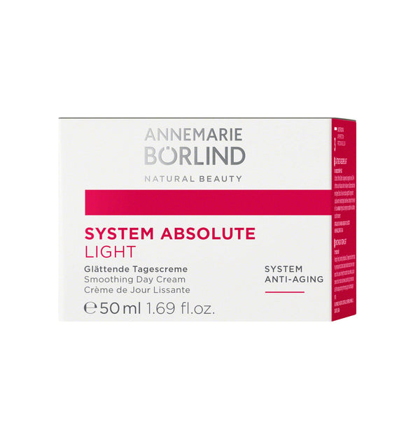 ANNEMARIE BÖRLIND - SYSTEM ABSOLUTE - Glättende Tagescreme light 50ml