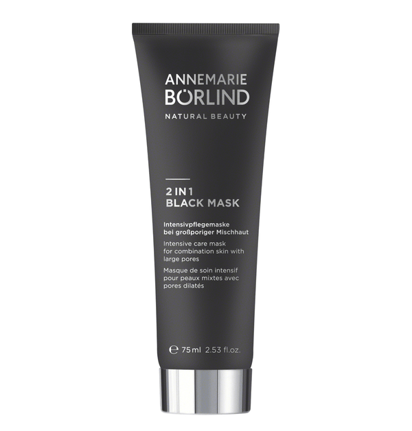 ANNEMARIE BÖRLIND - BEAUTY MASK - 2 IN 1 BLACK MASK 75ml