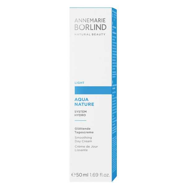 ANNEMARIE BÖRLIND - AQUANATURE - Glättende Tagescreme light 50ml