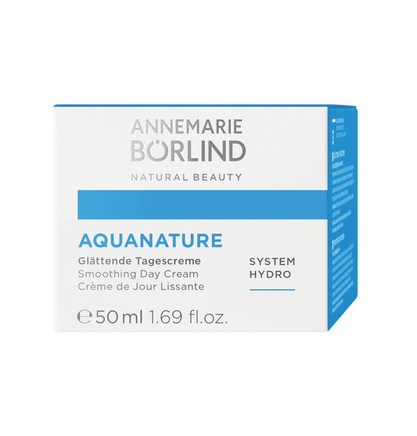 ANNEMARIE BÖRLIND - AQUANATURE - Glättende Tagescreme 50ml