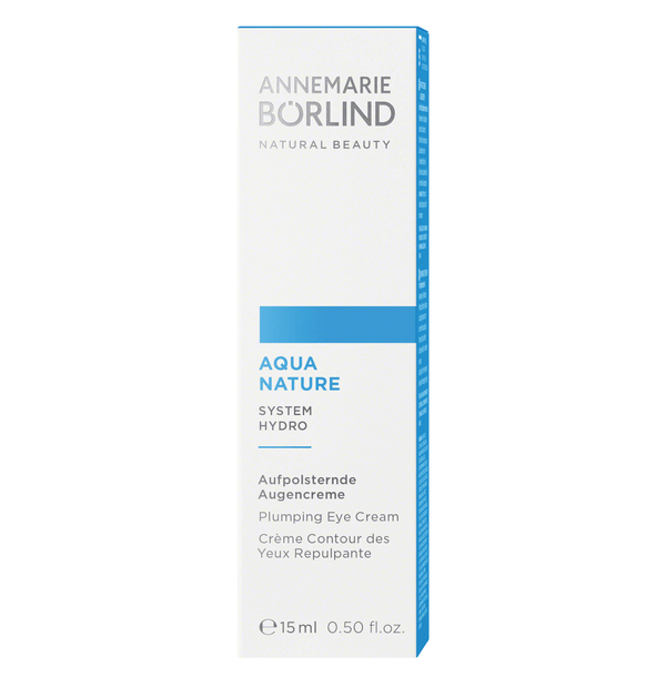 ANNEMARIE BÖRLIND - AQUANATURE - Aufpolsternde Augencreme 15ml