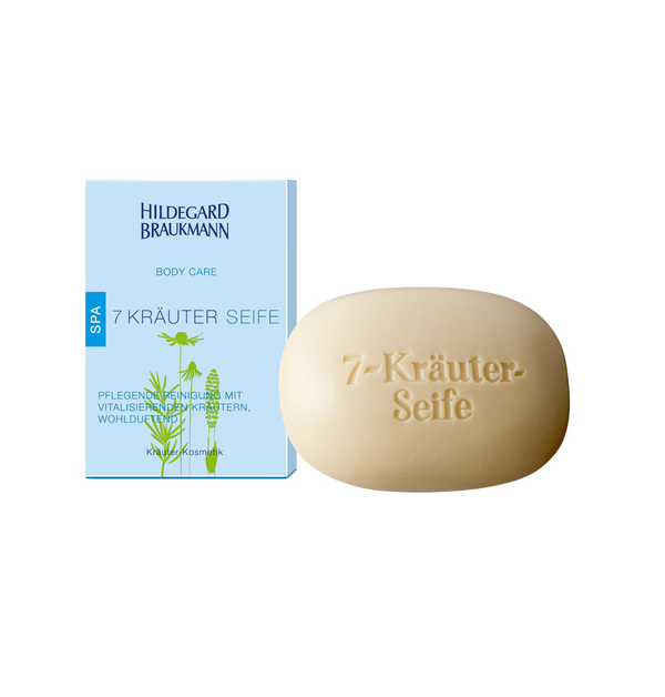 Hildegard Braukmann BODY CARE 7 Kräuter Seife 150 g - Hedo Beauty
