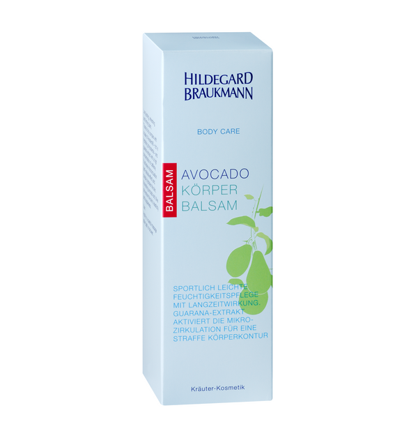 Hildegard Braukmann BODY CARE Avocado Körper Balsam 200ml - Hedo Beauty