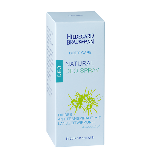 Hildegard Braukmann BODY CARE Natural Deo Spray 50ml - Hedo Beauty