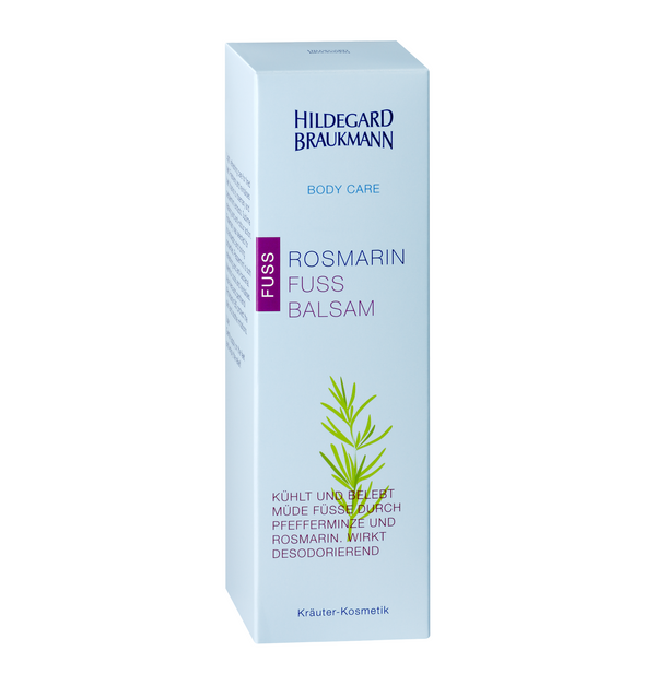 Hildegard Braukmann BODY CARE Rosmarin Fuss Balsam 100ml - Hedo Beauty