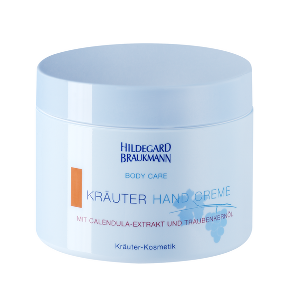 Hildegard Braukmann BODY CARE Kräuter Hand Creme 200ml - Hedo Beauty