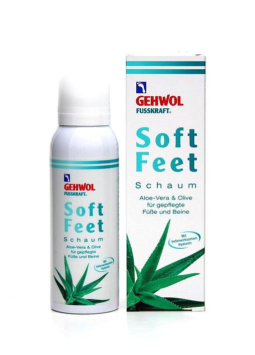 GEHWOL - FUSSKRAFT - SOFT FEET Schaum 125ml