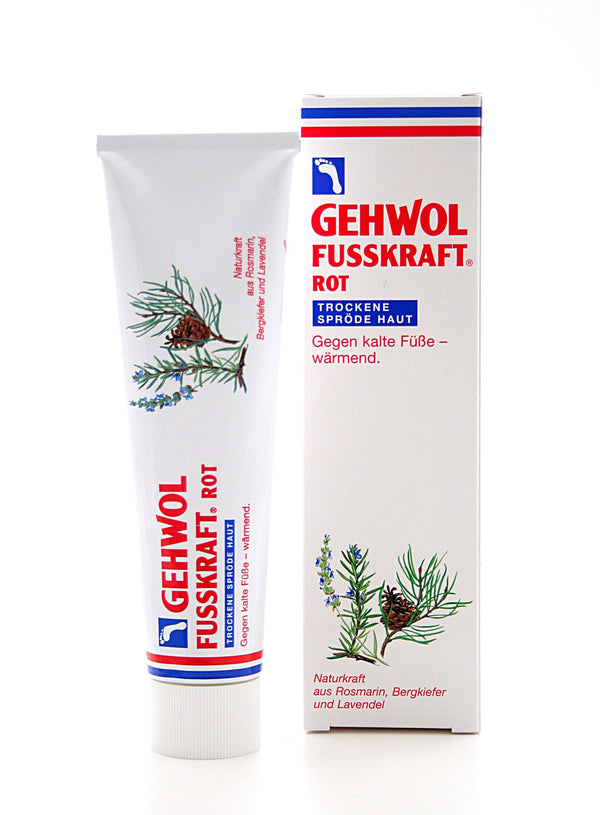 GEHWOL - FUSSKRAFT - ROT 125 ml