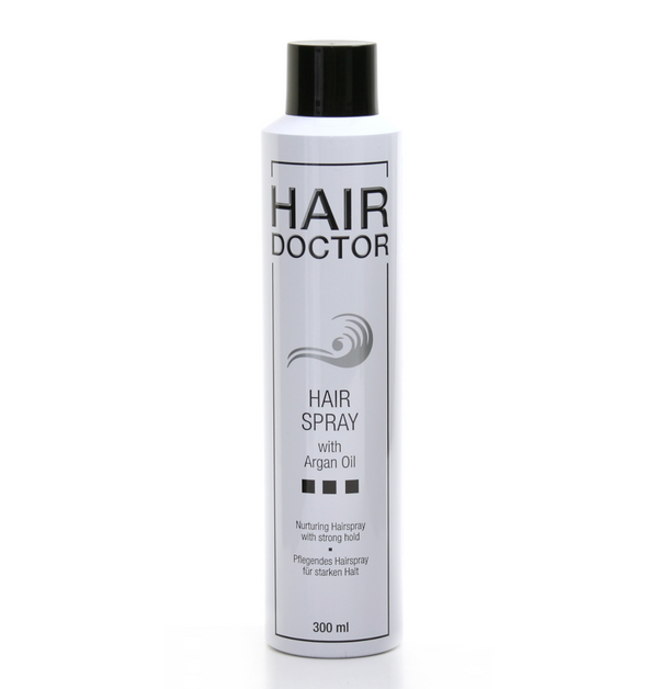 HAIR DOCTOR Hair Spray Strong mit Argan Oil - Hedo Beauty