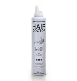 HAIR DOCTOR Styling Mousse Strong mit Argan Öl - Hedo Beauty