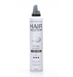 HAIR DOCTOR Styling Mousse Extra Strong mit Argan Öl - Hedo Beauty