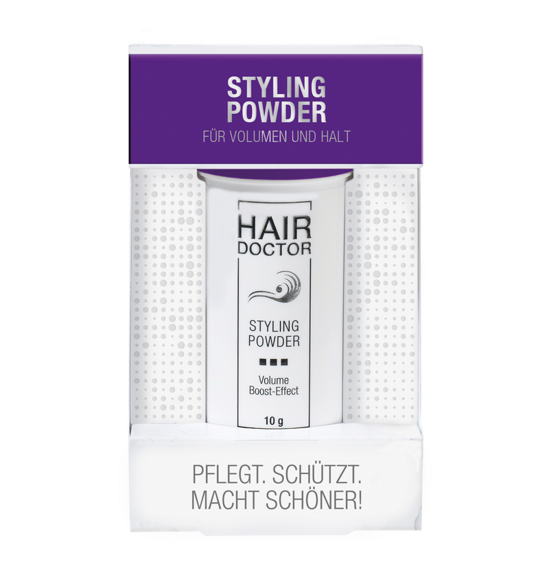 HAIR DOCTOR Styling Powder für perfektes Volumen - Hedo Beauty