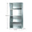 Short Span Industrial Shelving Bays - 900mm wide - 5 Levels - Closed