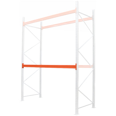 Pallet Racking Bay Kits Spare Beams 2700mm 1350mm c/e