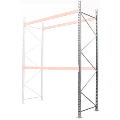 Pallet Racking Bay Kits Spares Frames 900mm 1100mm deep