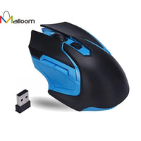 Malloom 2018 3200 DPI 6 Button 2.4GHz Wireless Optical Gaming Mouse For PC or Laptop