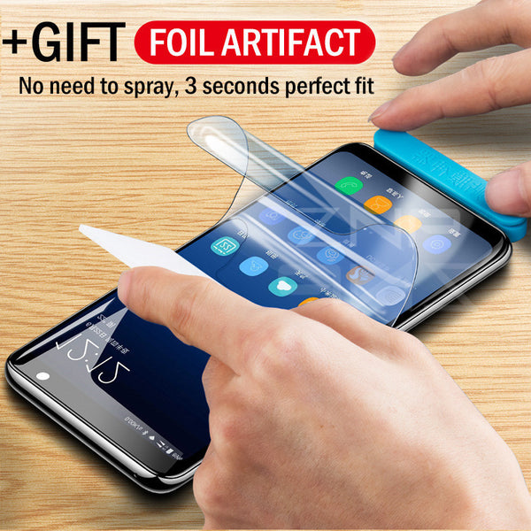 ZNP Hydrogel Film Full Cover For Samsung Galaxy S9 S8 Plus S6 S7 Edge