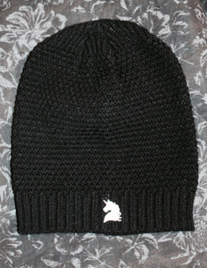 Black Unicorn Beanie