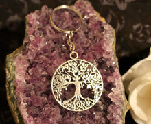 Load image into Gallery viewer, Tree of Life Keychain