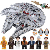 Star Wars Millennium Falcon Building Block Kit 8845pcs (75192)