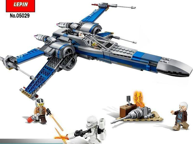 Star Wars X Wing Fighter Building Block Set 740 pcs (75149)