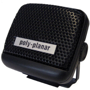 Poly-Planar VHF Extension Speaker - 8W Surface Mount - (Single) Black