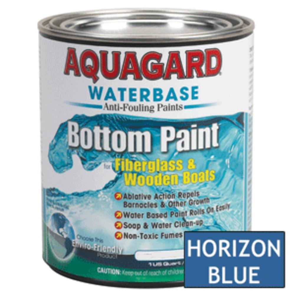 Aquagard Waterbased Anti-Fouling Bottom Paint - 1Qt - Horizon Blue