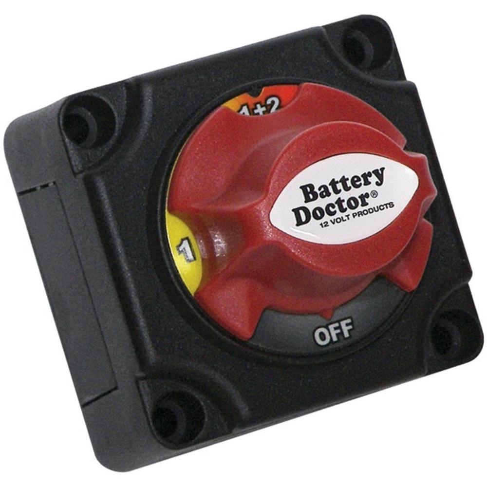 Battery Doctor(R) 20393 Mini Master Disconnect Switch (Dual Battery, 4 Position)