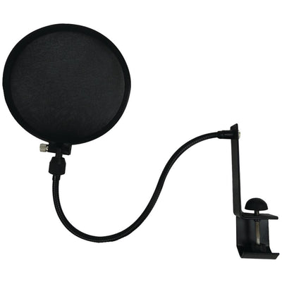 Nady Microphone Pop Filter With Boom & Stand Clamp NDYSPF1