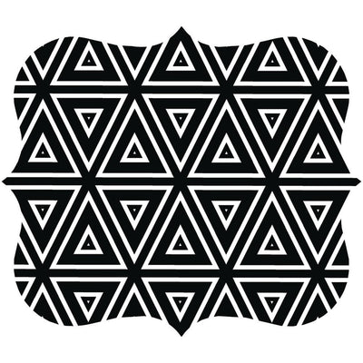 Fellowes Designer Mouse Pad (geometric Triangles) FLW5919201