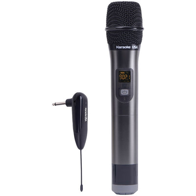 Karaoke Usa Wm900 900mhz Uhf Wireless Handheld Microphone JSKWM900