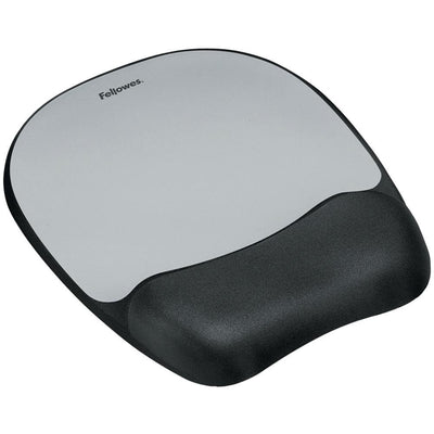 Fellowes Memory Foam Mouse Pad With Wrist Rest FLW9175801