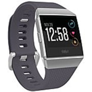Fitbit Ionic Watch - Wrist - Optical Heart Rate Sensor, Accelerometer, Gyro Sensor, Altimeter, Ambient Light Sensor - Sleep Monitor, Music Player, Text Messaging, Calendar, Clock Display, Alarm - H
