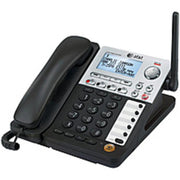 AT&T SynJ SB67148 4-Line Cordless Phone - DECT 6.0 - LCD Display - Caller ID-Call Waiting