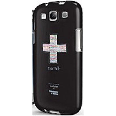 Symtek Whatever It Takes WUS-GS3-GCP01 Premium Gel Shell for Samsung Galaxy S III - Coldplay Black