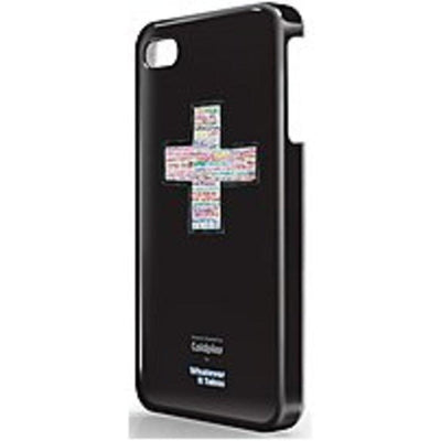 Symtek WUS-I4S-TCP01 Whatever It Takes Coldplay Designed Protective iPhone 4, 4S Case - Black