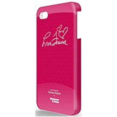Symtek WUS-IP5-GDK03 Whatever It Takes Premium Gel Shell for iPhone 5 - Donna Karan Red