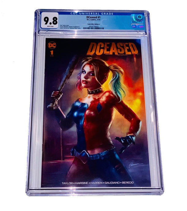 DECEASED 1 CGC 9.8 Comic book Edition A Variant