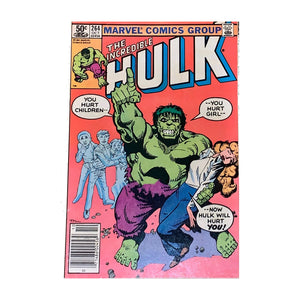 The Incredible Hulk #264 Marvel Comics